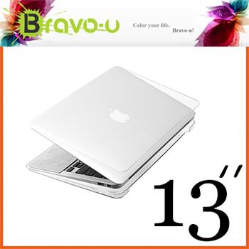 Bravo-u APPLE MacBook Air 水晶光透保護硬殼(13吋)