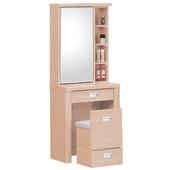 《時尚屋》G15 雅典栓木2尺鏡台007-7(含椅子)