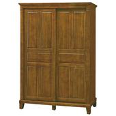 《時尚屋》G15 巴比倫黃檀實木5尺衣櫃058-1