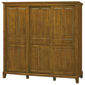 《時尚屋》G15 巴比倫黃檀實木7尺衣櫃057-6