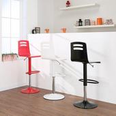 《BuyJM》威廉斯吧檯椅/高腳椅(3色可選)(黑色)