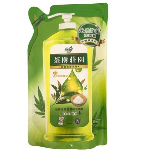 《茶樹莊園》茶樹超濃縮洗碗精補充包(700g)