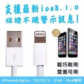 iPhone5 Lighting 新版USB傳輸線(1入)
