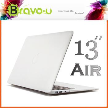 Bravo-u APPLE MacBook Air 13 水晶磨砂保護硬殼
