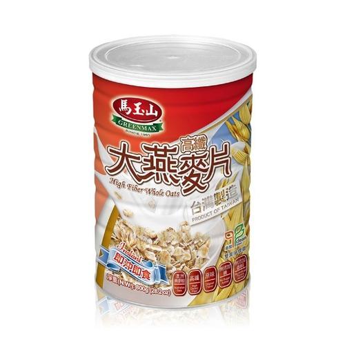 馬玉山 高纖大燕麥片(800g/罐)