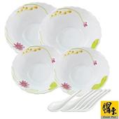 《鍋寶》耐熱玻璃湯碗-十全十美饗宴組(EO-TSB8432Z8433ZSBTS)