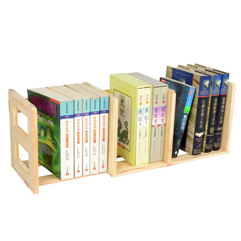 LIFECODE 極簡風松木桌上型伸縮書架