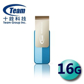 《TEAM 十銓》Color Series C143 USB3.0 旋轉隨身碟 16G