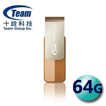 TEAM 十銓 Color Series C143 USB3.0 旋轉隨身碟 64G