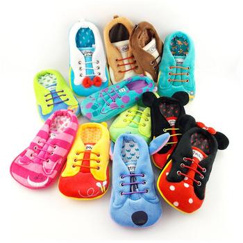 Disney 4.7吋通用可愛角色布鞋造型直入式票夾手機袋(米奇)