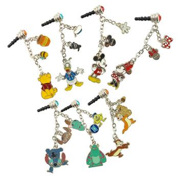 《Disney》時尚質感五金耳機防塵塞吊飾(米奇)