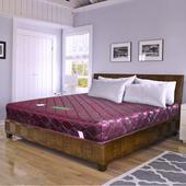 《時尚屋》緹花蓆面3尺單人硬式彈簧床墊Q1-008(紅色)