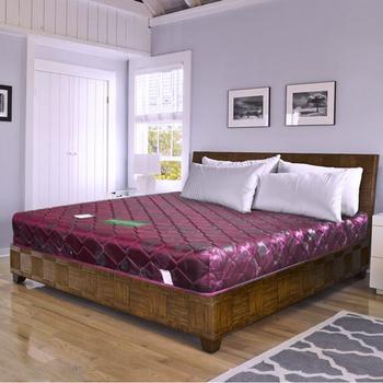 時尚屋 緹花蓆面3.5尺加大單人硬式彈簧床墊Q1-007可選色(紅色)