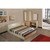 《時尚屋》STYLE 絲黛特印花雙面布3.5尺加大單人彈簧床墊