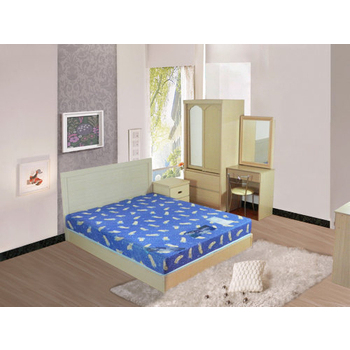 時尚屋 STYLE 絲黛特冬夏兩用印花3.5尺加大單人彈簧床墊