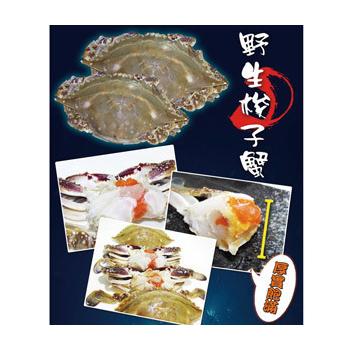 元記食品 ~生猛海鮮~野生梭子蟹9隻(禮盒裝)(梭子蟹x9隻)