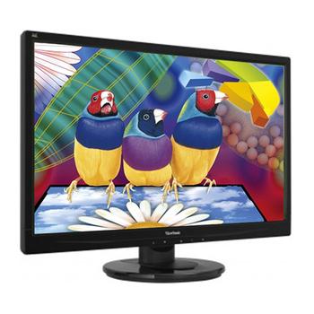 ViewSonic優派 VA2445m-LED 24吋Full HD 俐落簡潔設計 呈現精準效能 液晶顯示器