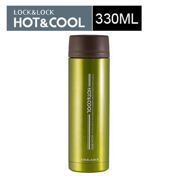 樂扣樂扣 艷彩不鏽鋼保溫杯330mL(綠色)