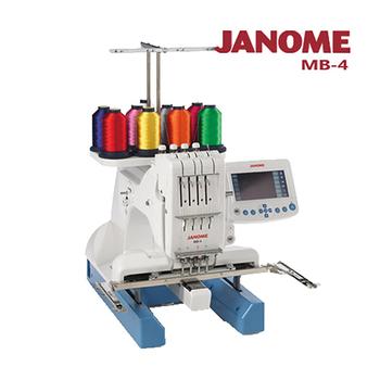 《日本車樂美JANOME》職業用刺繡機MB-4(MB-4)優惠至4/30前促銷77折
