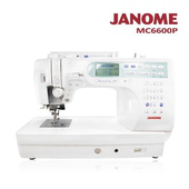 《日本車樂美JANOME》電腦型縫紉機MC6600P(MC6600P)優惠至4/30前促銷82折