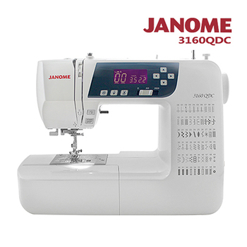 日本車樂美JANOME 電腦型全迴轉縫紉機3160QDC(3160QDC)