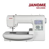 《日本車樂美JANOME》電腦型刺繡機MC200E(MC200E)