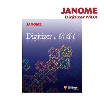 《日本車樂美JANOME》刺繡設計軟體 Digitizer MBX(Digitizer MBX)