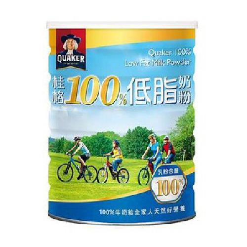 桂格 100%低脂奶粉(1500g/罐)
