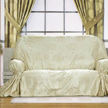 布安於室-富貴花DIY2人座沙發罩