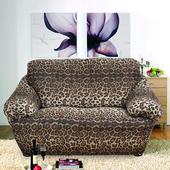 《歐卓拉》叢林狂想曲彈性沙發便利套-豹紋1人