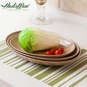 《Husk's ware》稻殼天然無毒環保魚盤兩件組