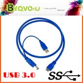 《Bravo-u》USB 3.0 Y-Cable 超高速傳輸線(1米)