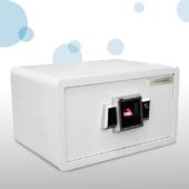 金手指指紋保險箱 F-LM20FX-TM-W(白色-小)