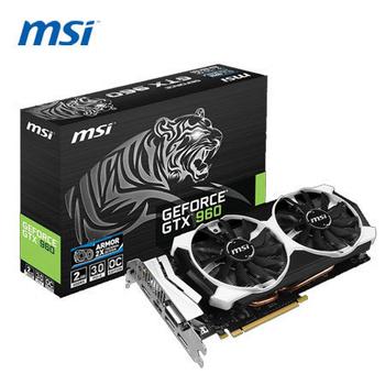 MSI 微星 GTX 960 2GD5T OC 顯示卡