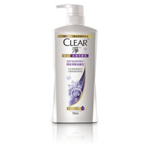 CLEAR淨 頭皮深層滋養洗髮乳(750ml/瓶)