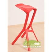 《NaikeMei耐克美》奧布麗Aubree造型高腳椅(紅)