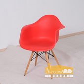 《NaikeMei【耐克美】》【耐克美】昆妮Queenie造型椅(紅色)