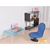 《NaikeMei【耐克美】》【耐克美】馬可仕Marcus皮面和室椅(藍色)
