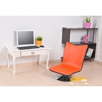 ★結帳現折★NaikeMei【耐克美】 【耐克美】瑞塔Rita皮面和室椅(橙色)