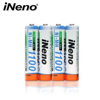 ★結帳現折★iNeno 4號高容量鎳氫充電電池(8入)