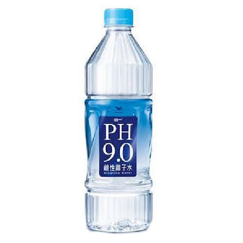 統一 PH9.0鹼性離子水(800ml/瓶)