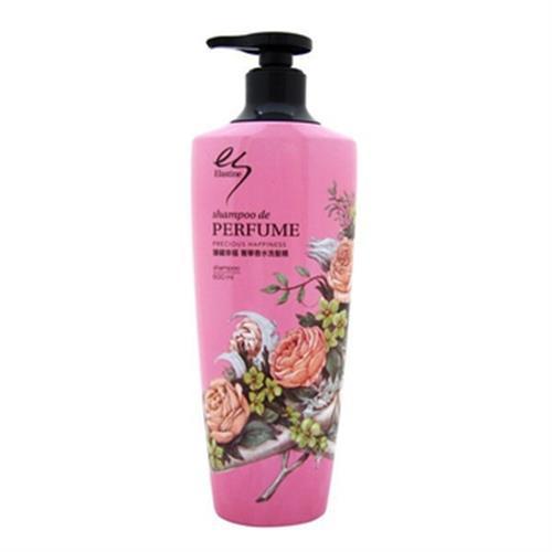 韓國ELASTINE 臻藏幸福奢華香水洗髮精(600ml)