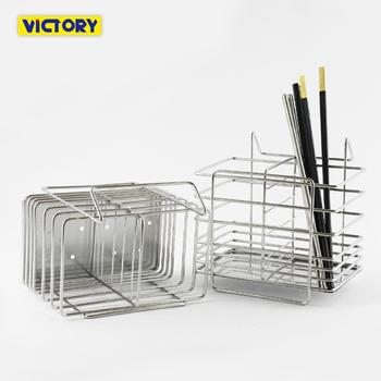 ★結帳現折★VICTORY 不鏽鋼湯匙筷子餐具架(2入組)