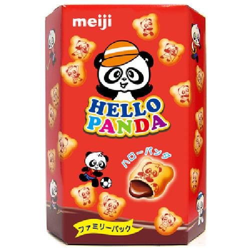 Meiji 明治HELLO PANDA巧克力夾心餅乾(175g/盒)