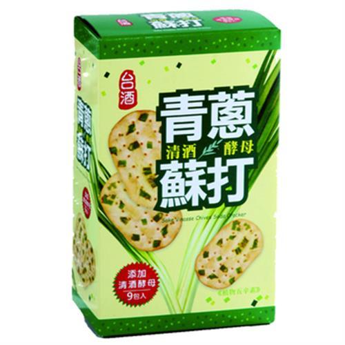 台酒 清酒酵母青蔥蘇打(180g/盒)