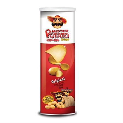 MISTER POTATO 薯片先生-原味(160g/罐)
