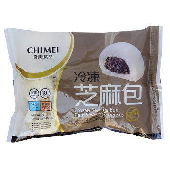 奇美 冷凍芝麻包(65g*10入)