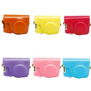 ROWA Casio 卡西歐 ZR1000 ZR1200 ZR1500 專用 共用 復古皮套 相機保護套 免拆充電皮套(粉)