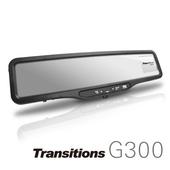 《全視線》G300 Full HD高畫質 GPS測速器 後視鏡行車記錄器(加贈16G SD卡)