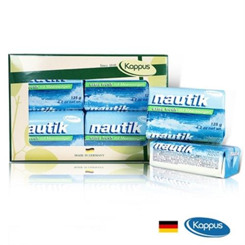 德國KAPPUS 海洋墨角藻皂125g*4 盒裝